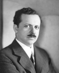 "Public Relations | Portrait of a young Edward Bernays, ""Father of PR"" (c. 1920s)."