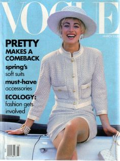 Vogue US March 1990 - Elaine Irwin