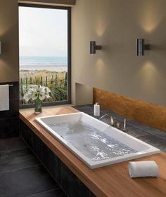 Eingelassene Badewanne ideen für ein schönes bad eingelassene badewanne eingelassene
