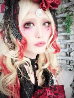 Rin Scarlet Valse Visual Kei, Scarlet, Halloween Face Makeup, Scarlet Witch