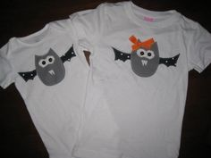 Going Batty Halloween Shirt for Boys or Girls by HeadOverHeelsTX, $16.00
