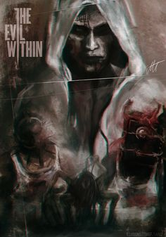 The Evil Within poster art The Evil Within Ruvik, The Evil Within Game, Cry Of Fear, Minions, What Is Evil, Game Of Survival, Horror Video Games, Scary Games, Psychological Horror