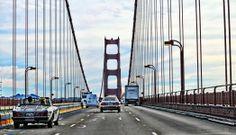 Driving Across The Bridge