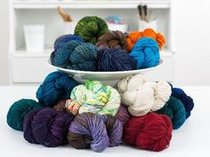 Make your best projects with Craftsy's supplies: yarn
