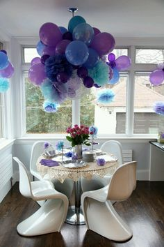 Engagement Party-love the balloons ideas!
