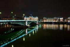 pont lyon la nuit - Recherche Google