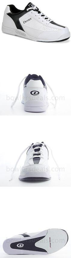 Men 159106: Dexter *New* Ricky Iii Men S Bowling Shoes White Black Wide Width -> BUY IT NOW ONLY: $39.95 on eBay!