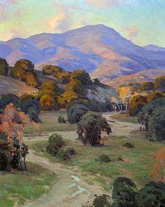 Santa Ynez by Jesse Powell Oil ~ 50 x 40