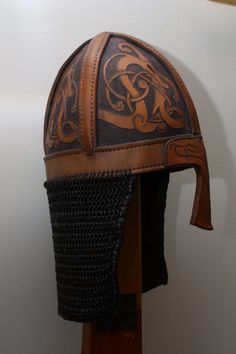Viking helmet side by jwallo on DeviantArt