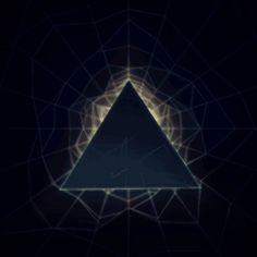 Pyramid Spin animation animated GIF