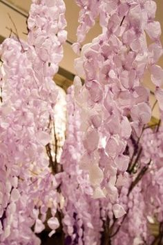 Anthropologie paper wisteria tree created by Ruthi Auda, courtesy of: InBloom Studio