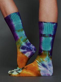 love tie dye socks