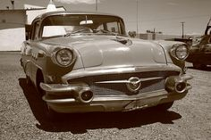 Route 66 Classic Car, at the Wigwam Motel in Holbrook, Arizona. Fine Art Photography.