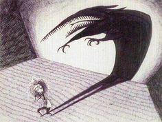 Tim Burton drawings