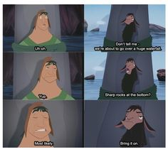 The Emperor's New Groove- one of the best movies ever!!!! LOVVE IT!!