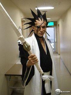Kenpachi Bleach cosplay