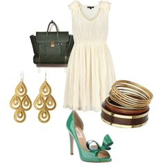Spring night out, created by kalpanagan.polyvore.com