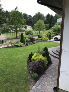"""Visit my board """"My garden to see how it is developed now! Hydrangea Landscaping, Large Backyard Landscaping, Landscape Boarders, Landscape Design, Back Gardens, Outdoor Gardens, Backyard Drainage, Hosta Gardens, Fire Pit Patio"""