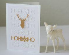 Weihnachtskarten - im Goldrausch