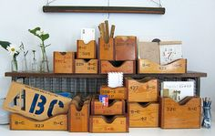 could I do this with those wooden magazine boxes from Ikea?
