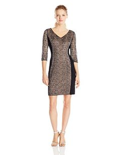 $87.08 (was $129.00) Black/Gunmetal Anne Klein Dress 10517323 Offer Date 12 12 - http://modeame.com/brands/anne-klein/87-08-was-129-00-blackgunmetal-anne-klein-dress-10517323-offer-date-12-12-5550