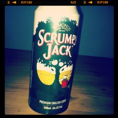 Scrumpy jack cider...Oh, how I wish I were a. in London again and b. able to drink again!