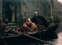 Armour in Time of Peril by Edmund Blair Leighton (1897)