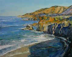 Big Sur Painting - Big Sur by Michael Creese
