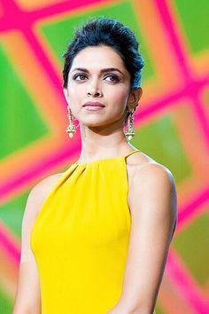 Deepika Padukone in yellow
