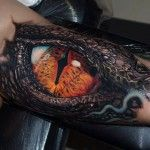 Realistic Reptile Eye | Best tattoo design ideas