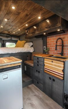 personally i think this is my favorite style that ive seen in a van/tinyhome