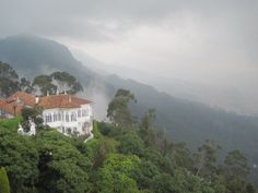 Monserrate, Bogota, Colombia    This is the church where I want to get married SO PRETTY