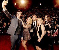Chloe Moretz, Nick Robinson, Alex Roe & Maika Monroe attend the 'The 5th Wave' LA premiere [January 14th, 2016]
