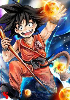 Goku by Sh0tisha