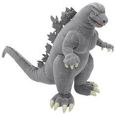 I LOVE this 13-Inch Plush Godzilla!! <3 $25