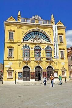 Croatia's National Theatre - Split, Croatia