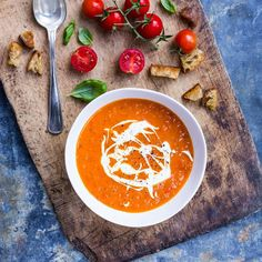 Tomatsuppe - Photo by: Ditte Ingemann