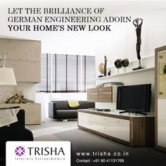 For all of you who want to go international for your home's décor, Trisha Interiors brings to you an epic collection of Hulsta #furnitures that will revolutionaize your #interiors and make people gape at them with awe!  http://bit.ly/110IKjg