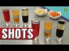 ¿Cómo preparar Shots de Boligoma, ABC y Cucaracha? - Cocina Fresca - YouTube