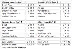 Week 5-8 workout