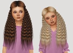 """simiracle: """" Anto Luna ♥ Adult Version !it is the last hair in cas! [Kids] [Toddlers] """""""