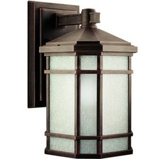 Kichler 9719 Craftsman / Mission 1 Light Outdoor Wall Sconce from the Cameron Collection