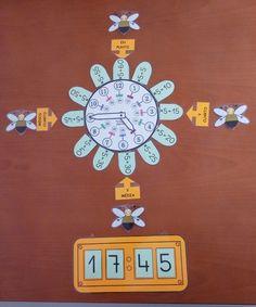 Reloj de flor analógico y digital II