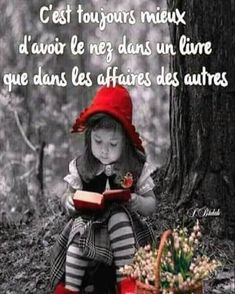It is always better to have your nose in a book than in others affairs. Motivational Quotes For Life, Me Quotes, Inspirational Quotes, Quote Citation, Positive Inspiration, French Quotes, French Lessons, Christian Inspiration, Positive Attitude