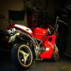 """Coming soon to the """"rideable"""" stable Ducati 916, Ducati Superbike, Monster Bike, Custom Street Bikes, Stables, Harley Davidson, Automobile, Motorcycles, Racing"""