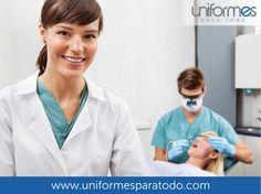 ¡Desempeña tus labores con toda comodidad!  #UniformesparaTodo #Colombia #Salud #Odontologos #Odontologia #Uniformes  www.uniformesparatodo.com