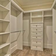 Closest shelving