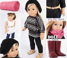 American Girl Doll Clothes MODERN CITY CHIC 10 by ModernDollWorld