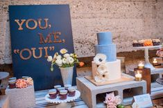 You, Me, Oui - cutest dessert bar!
