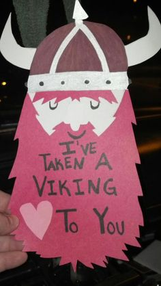 This could work as a teacher appreciation door decoration. Mr/Ms we've taken a Viking to you